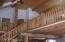 Full log interior; TNG ceiling