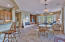 casual dining area in great room