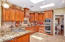 Newer custom kitchen cabinets, counter tops and appliances