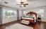Spacious master suite with sitting area and wonderful place to relax