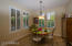 Breakfast Nook / Informal Dining Area