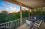 Front Upstairs Deck - Enjoy fantastic evening sunsets from your upstairs view deck!