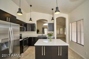 Stunning new kitchen! sleek cabinets, quartz counters, all stainless appliance