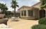 Spacious courtyard to enjoy the Arizona outdoors