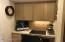 Study in kitchen