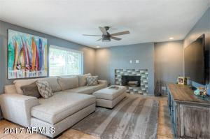 This room could be used as a dining room or family room