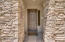 This Gorgeous Entry is Flanked with Stacked Stone Facia