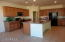 ISLAND WITH GRANITE COUTNER AND WALK IN PANTRY