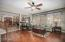 HUGE FAMILY ROOM OPEN TO THE KITCHEN! NICE OPEN FLOW!