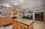 THE HEART OF THE HOME! BE RIGHT IN THE CENTER OF THE ACTION WITH THIS GREAT KITCHEN!