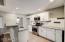Beautiful, white, bright kitchen