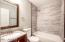 Completely updated hall bath