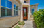 Beautiful courtyard area and front door entry way.