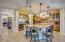 Elegant upgraded ceramic tile throughout home.