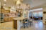 Exquisite fully upgraded kitchen.