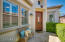 Private front courtyard area.