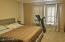 This is the north master bedroom. Note that both bedrooms have balconies!