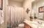 Downstairs Full Bath!