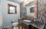 Stunning updated guest bathroom