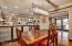 Kitchen, Dinning and wet bar