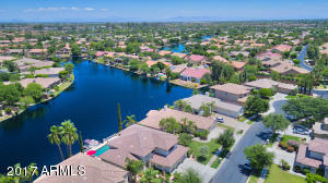 Prime Waterfront Lot with Expansive Lake Views. The Red Dot is an Umbrella by YOUR Pool!