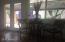 kitchen opens onto shady patio