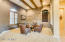 Den/Wine Room with added Beams