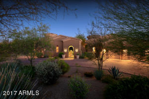 Elegant, tranquil custom home in a private, gated community.