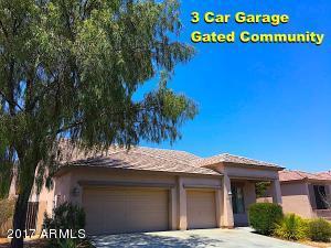 3 Car Garage Gated community