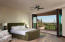 Master Bedroom and Deck overlooking awesome views!
