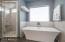 Master Bath/ Freestanding Tub