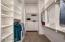 WOW! Floor to ceiling custom closet.