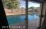 Patio Door to your morning swim!