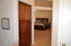 Linen Closet before Main Suite - Double Doors open.