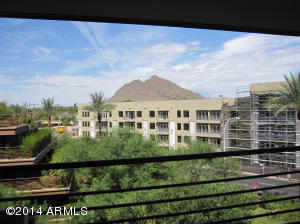 Camelback Mountain views from balcony