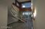 Rendering of view of entryway - night