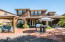 Home sits on a 9200+sf w/a backyard featuring a 10'x10' cedar pergola, built in BBQ island with NEW beverage cooler, custom water feature and lots of stained concrete patio and pavers