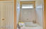 NICE TUB AND SHOWER IN THE MASTER BATH