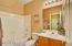FRESH AND CLEAN GUEST BATHROOM