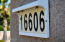 Lighted address plate