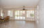 The open floor plan provide a spacious layout for the formal dining room and the great room.