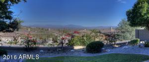 Exquiste view of Four Peaks & mountain vistas.