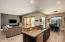 Kitchen, breakfast room & Great Room.