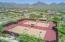 2 tennis courts located near this home.
