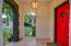 Beautiful door with original details