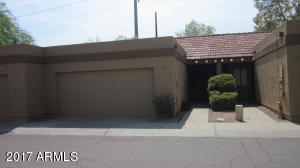 Appealing well-kept subdivision, with low-maintenance front yard.