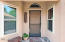 Welcoming front entry to your new home!