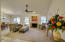 Great room / Open concept single story home.