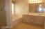 Master Bathroom when vacant