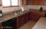 Nice granite counter tops.